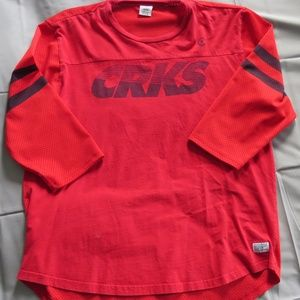 Crooks & Castles Red Jersey Shirt